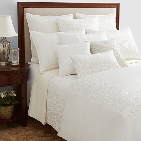 Hudson Park Luxe Athena Queen 3 Piece Coverlet Set Shop