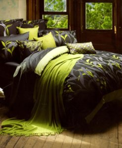 Amazon By Kas King 3 Piece Duvet Set SOC 455