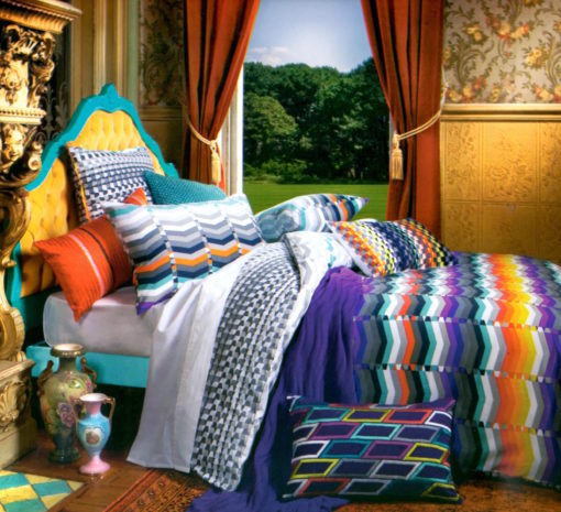 Ascent By Kas King Duvet Set SOC 1332