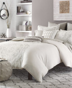Bar III Token Queen 3 Piece Comforter Set SOC 937