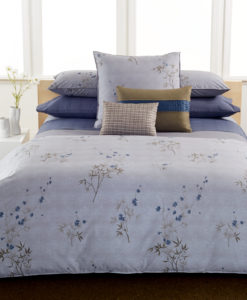 Calvin Klein Bamboo Flower Queen Duvet Cover SOC 1354
