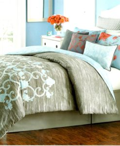 Martha Stewart Camille King Comforter Set SOC 1353