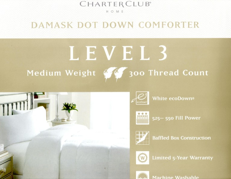 Charter Club Damask Dot