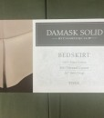 Charter Club Damask Solid Ivy Green Twin Bedskirt BS0007