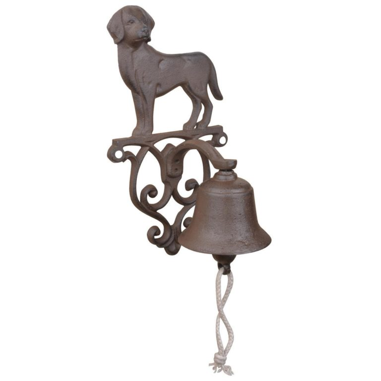 Dog Cast Iron Doorbell SOC 1121