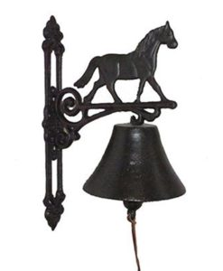 Horse Cast Iron Doorbell SOC 1123