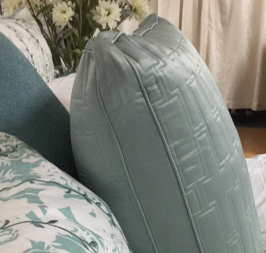 Hotel Collection Frost Quilted Euro Gusset