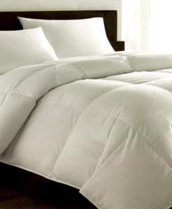 Hotel Collection Light Weight Hungarian White Goose Down King Comforter SOC 731
