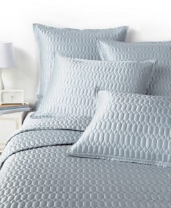 Hudson Park Facets Blue Silk Blend Standard Sham SOC 526