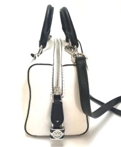 Michael Kors Black And White Top View