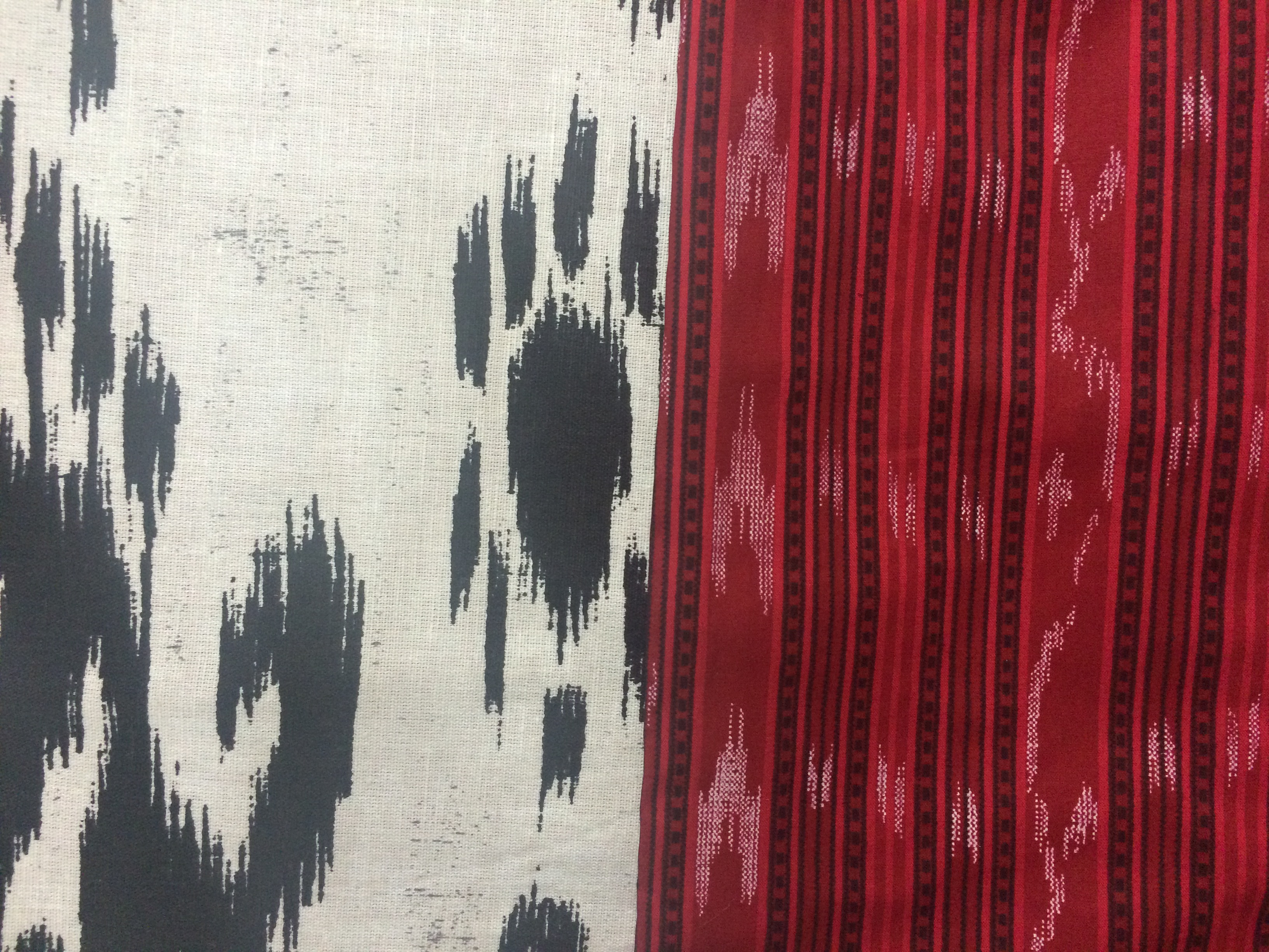 INC Ikat front and reverse