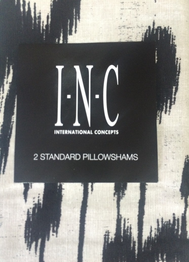 INC Ikat Standard Sham Set SOC 357