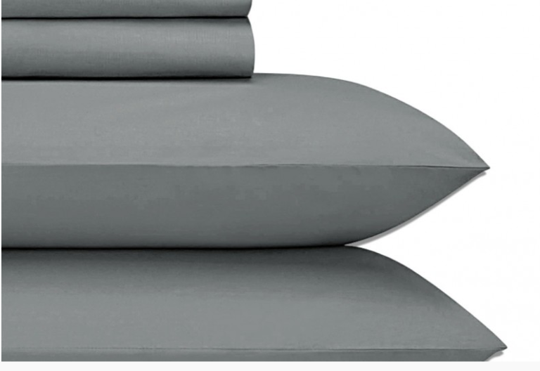 Jubilee Grey King Sheet Set JU002