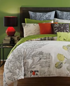 Letters From Paris Queen Duvet Set SOC 1340