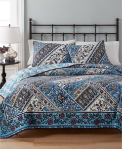 Martha Stewart Antique Market Twin Quilt Set SOC 1348