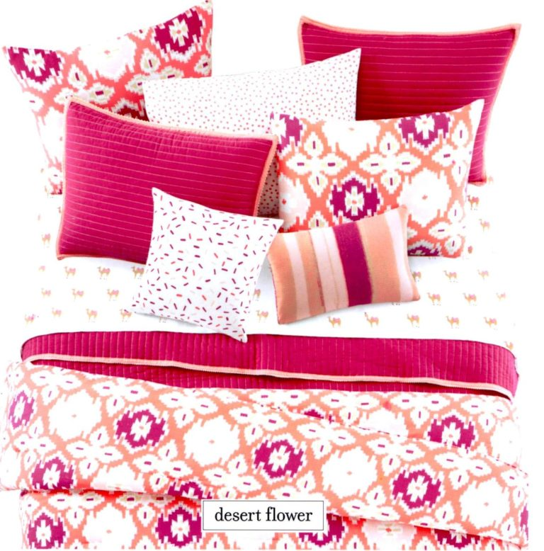 Martha Stewart Desert Flower Bedding Collection