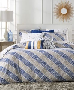 Whim By Martha Stewart Dot Com Queen Duvet Set SOC 1145