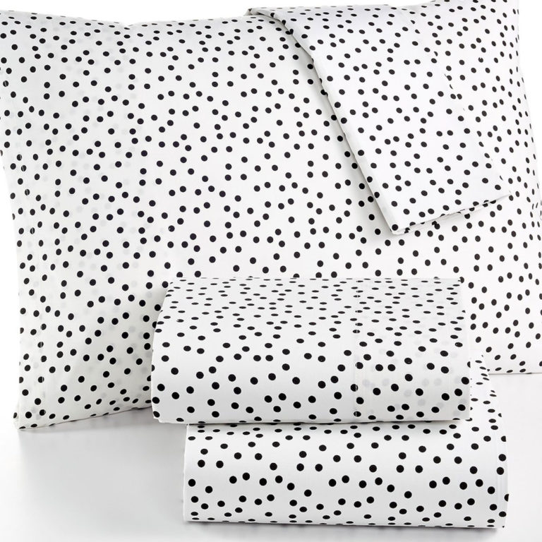 Martha Stewart Dotty Twin XL Sheet Set SOC 1270