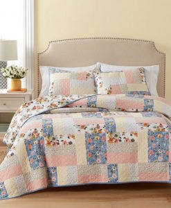 Martha Stewart Fair Breeze Twin Quilt SOC 1327