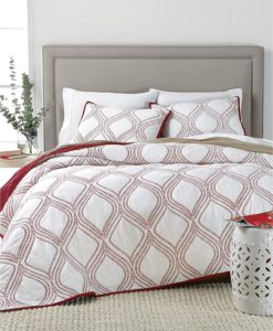 Martha Stewart Gramercy Gate Queen Quilt SOC 1355