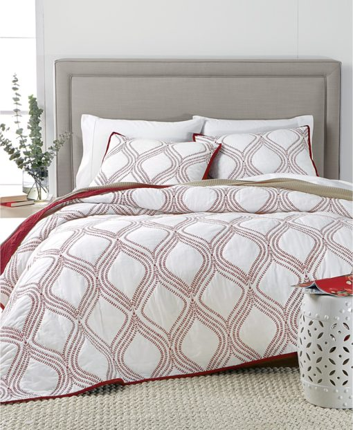 Martha Stewart Gramercy Gate Twin Quilt SOC 1351