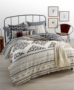 Martha Stewart Nomad Queen Duvet Set SOC 1343
