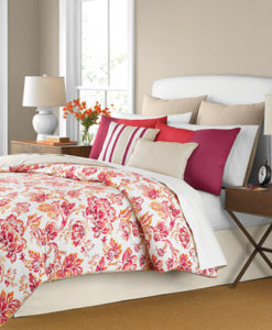Martha Stewart Pristina Queen Comforter Set SOC 1163