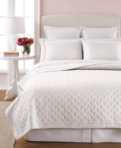 Martha Stewart basket Stitch King Quilt SOC 1329