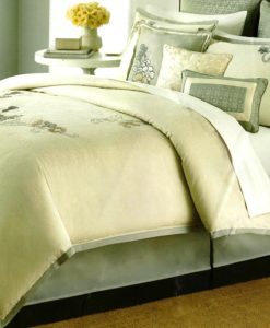 Martha Stewart Flower Gallery Queen 9 Piece Comforter Set SOC 878