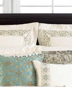 Martha Stewart Ornate Paisley Euro Sham Set SOC 016