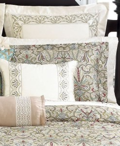 Martha Stewart Ornate Paisley King Sham Pair SOC 018