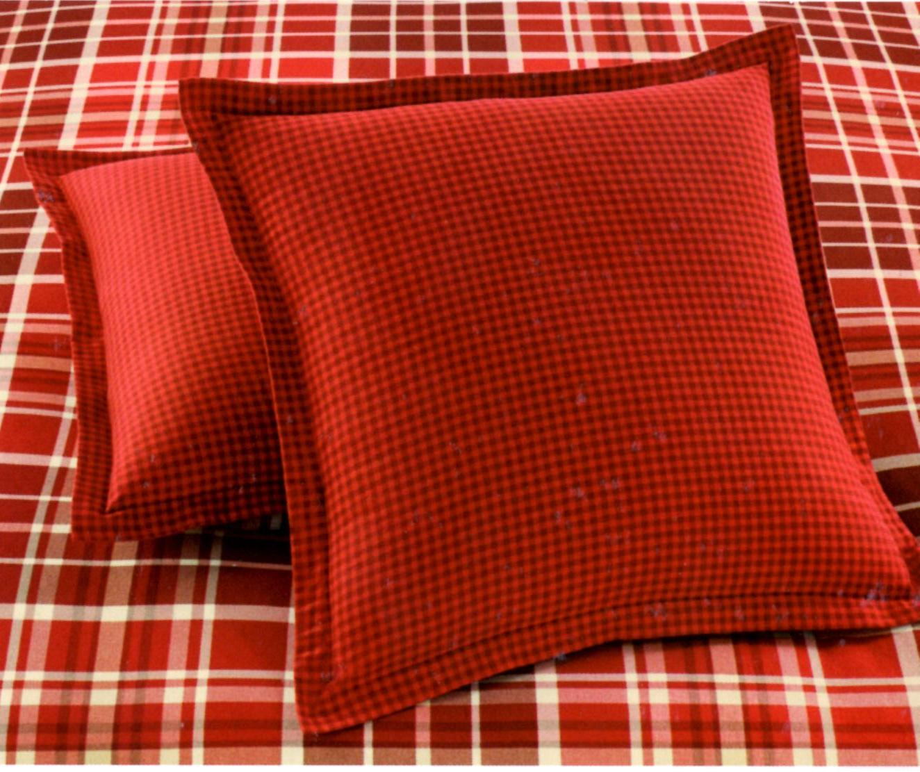 Martha Stewart Winter Tartan Euro Sham SOC 1061