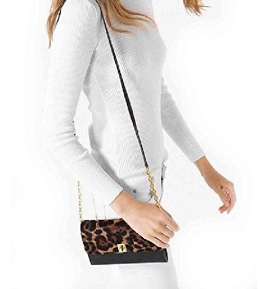 Michael Kors Natalie Wallet On A Chain SOC 1194