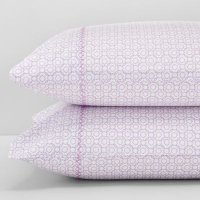 Nava Lavender Pillowcases