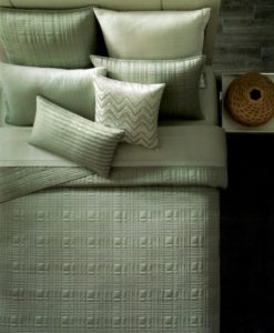 Oake Sequence Jade Twin Coverlet SOC 438