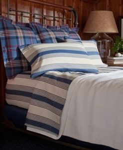 Ralph Lauren Saranac Peak Corbet Cal King Fitted Sheet SOC 1313