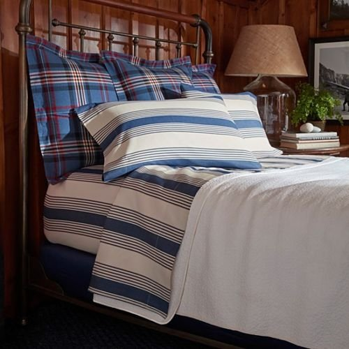 Ralph Lauren Saranac Peak Corbet King Flat Sheet SOC 1310