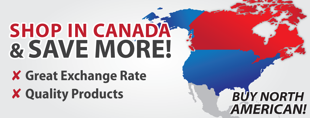 Shop in Canada & Save More!