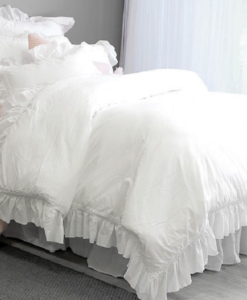 The White Collection Sauton Sands Queen Duvet Cover SOC 742