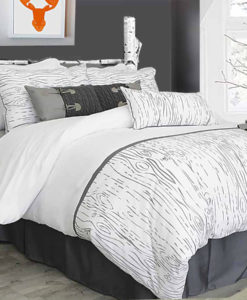 The White Collection Blairmont Queen Duvet Cover SOC 753