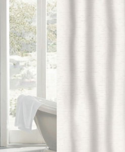 The White Collection Carlyle Shower Curtain SOC 751