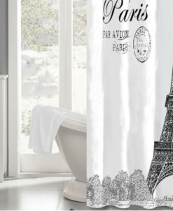 The White Collection J'adore Shower Curtain SOC 752