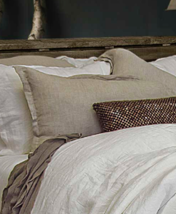 The White Collection Morgan Bleached White Standard Sham SOC 763