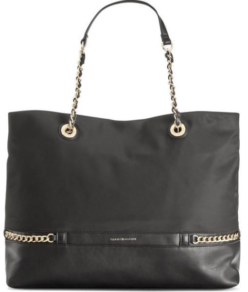 Tommy Hilfiger Cassidy Chain Link Tote SOC 1220