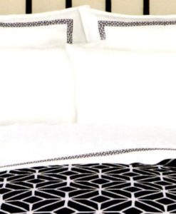 Trina Turk Palm Springs Black Euro Sham SOC 510