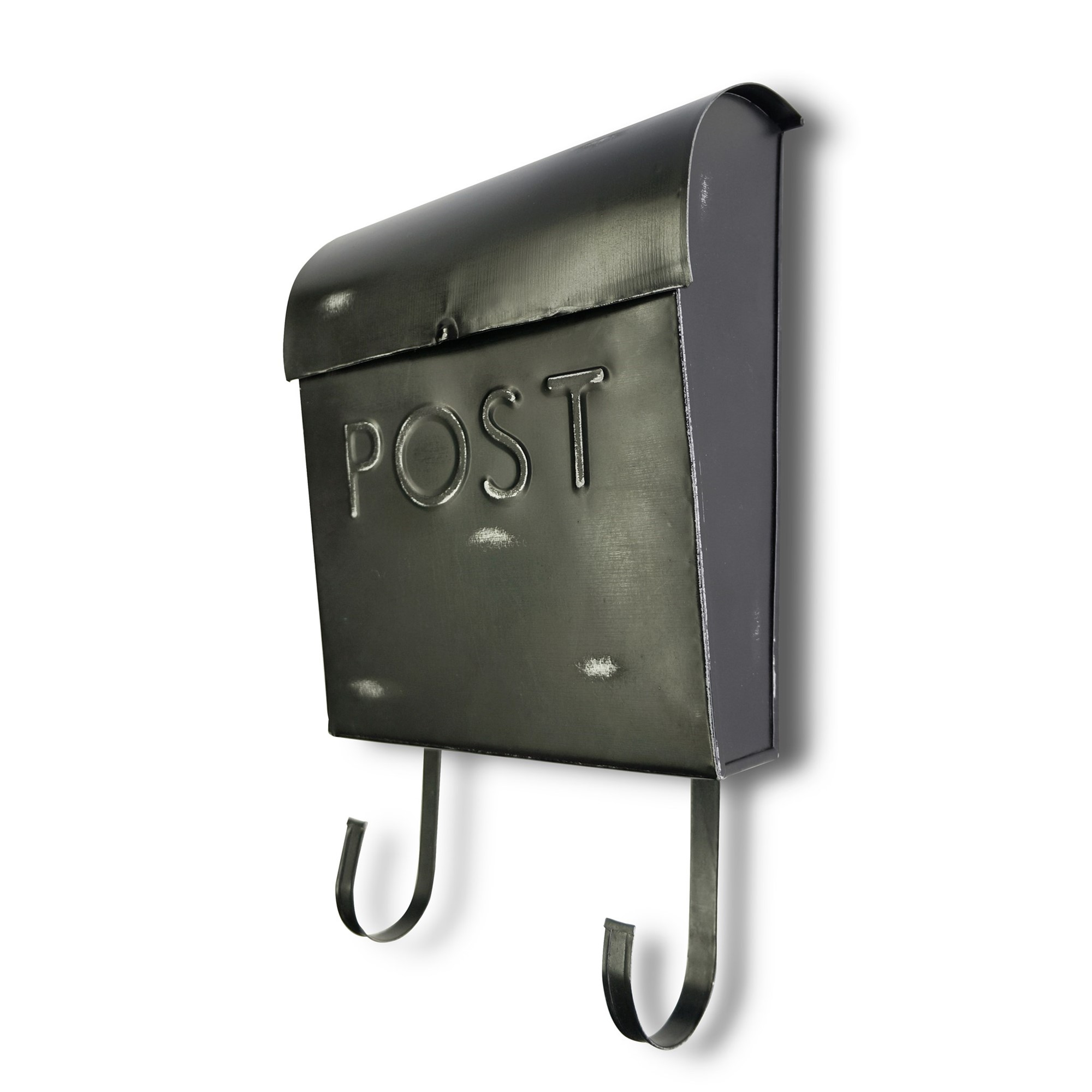 Wall Mount Rustic Black Mailbox Shop Outlet Canada