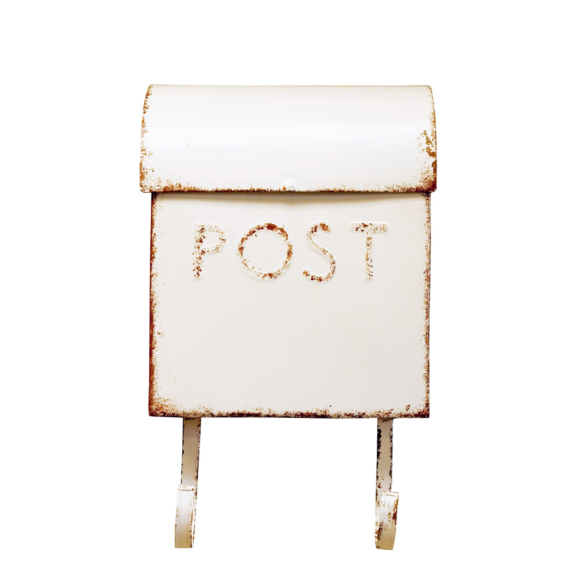 Wall Mount Rustic Cream Mailbox Shop Outlet Canada