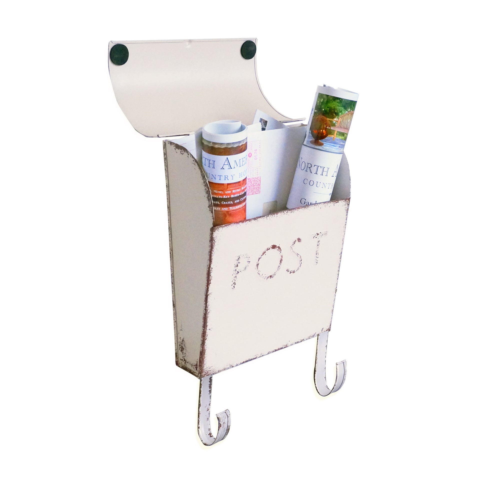 Shop Outlet Canada: Wall Mount Rustic Cream Mailbox