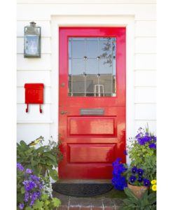 Wall Mount Rustic Red French Home