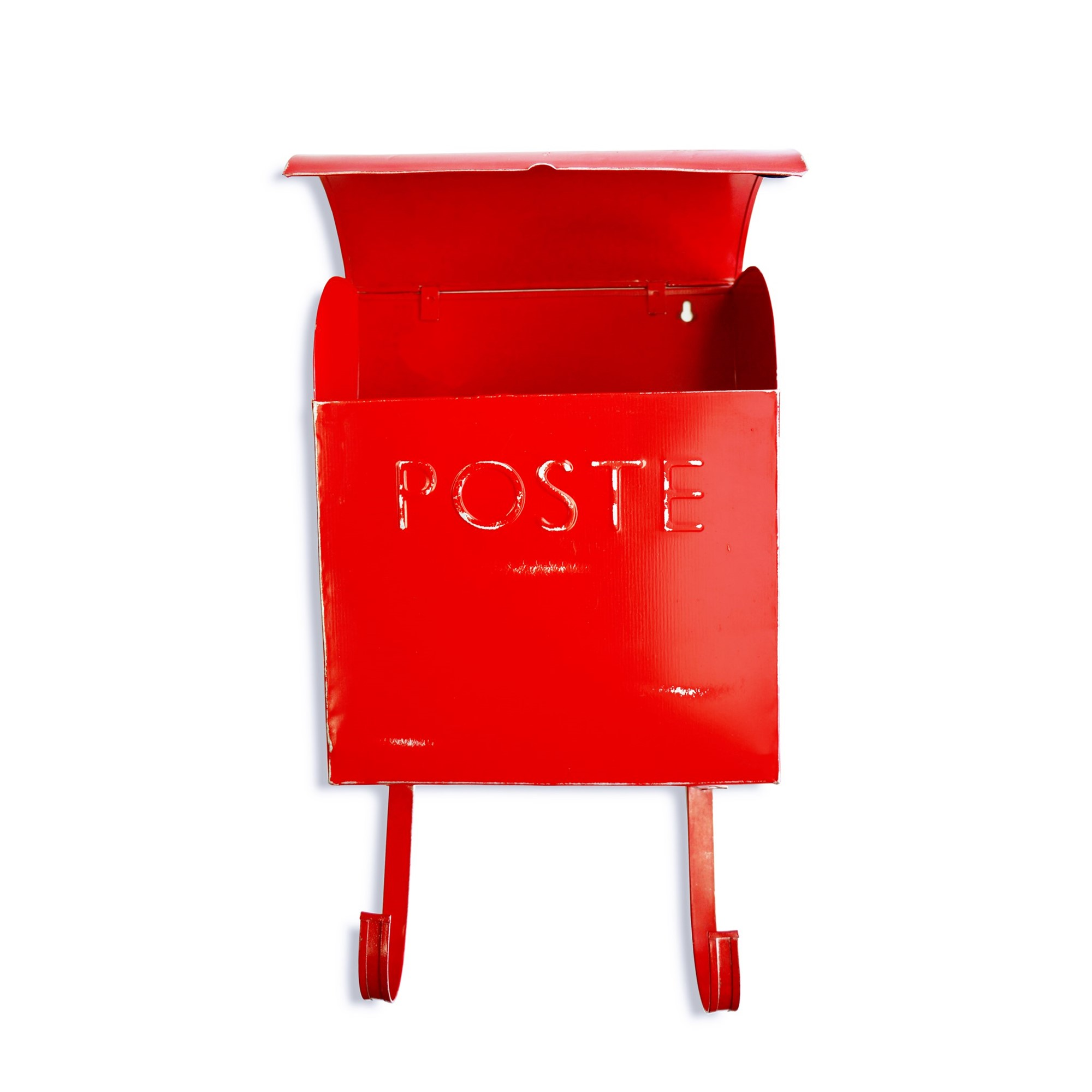 Wall Mount Rustic Red French Mailbox Shop Outlet Canada